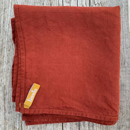 TERRA COTTA House Helper Treeless Linen Towels Set of 10