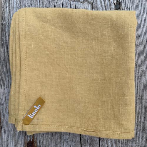 DIJON GOLD House Helper Treeless Linen Towels Set of 4