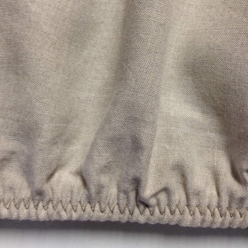 Natural Organic Belgian Linen Fitted Sheet Made In USA