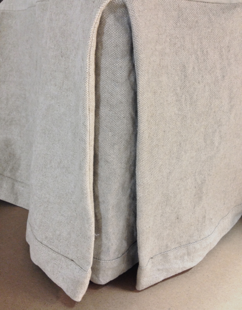 Hotel Style Linen Bed Skirts And Dust Ruffles By Linoto