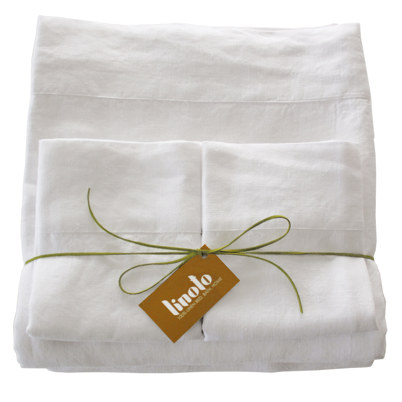 Belgian eco-linen sheet set