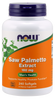 Now Foods Saw Palmetto Extract 160mg 240 Softgels #4744