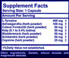 Vita Logic Thyroid Formula 120 Capsules, Ingredients