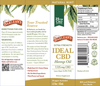 Barlean's Extra Strength Ideal 25mg CBD Hemp Oil 1.5oz Ingredients
