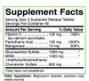 Life's Fortune Super Glucosamine Chondroitin MSM Complex 120 Tablets, Ingredients
