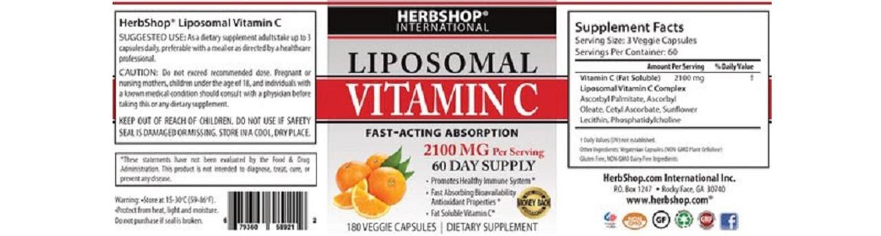 Doctor's Blend Liposomal Vitamin C