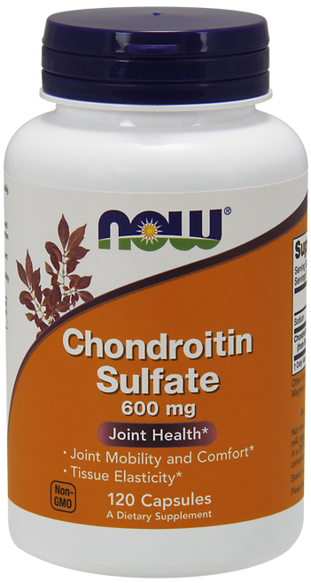 Now Foods Chondroitin Sulfate 600 mg 120 Capsules #3226
