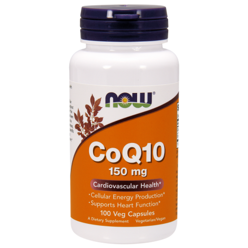 Now Foods CoQ10 150 mg 100 Vegetarian Capsules #3218