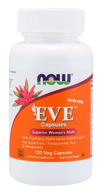 Now Foods Eve Women's Multiple Vitamin 120 Vegetarian Capsules #3798