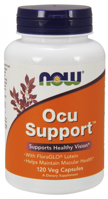 Now Foods Ocu (Eye) Support 120 Capsules #3302