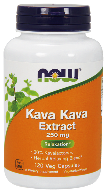 Now Foods Kava Kava 250 mg 100 Capsules #4717