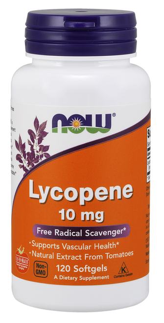 Now Foods Lycopene 10 mg 120 Softgels #3061