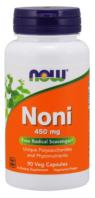 Now Foods Noni 450 mg Hawaiian 90 Vegetarian Capsules #4712