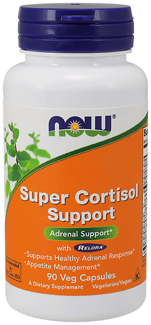 Now Foods Super Cortisol Support with Relora 90 Vegetarian Capsules #3344