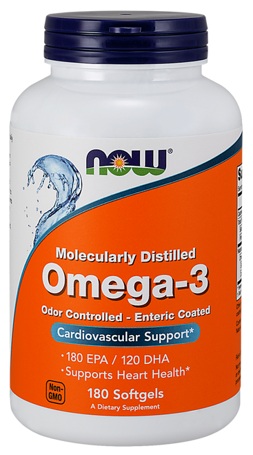 Now Foods Omega-3 180 Softgels #1657