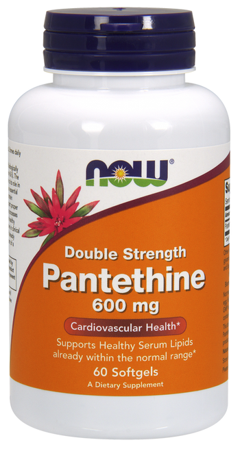 Now Foods Pantethine 600 mg 60 Softgels #0489