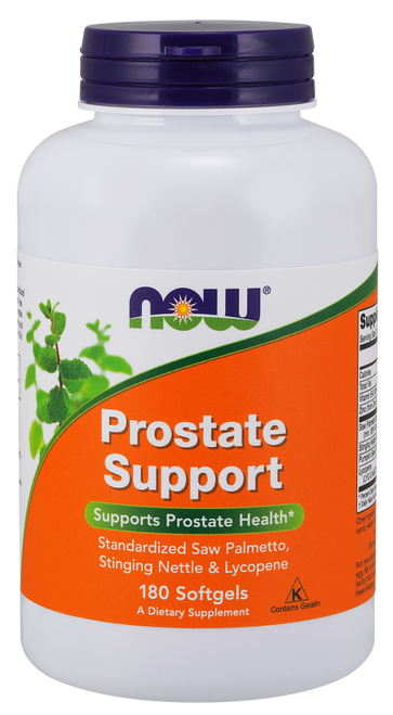 Now Foods Prostate Support 180 Softgels #3341