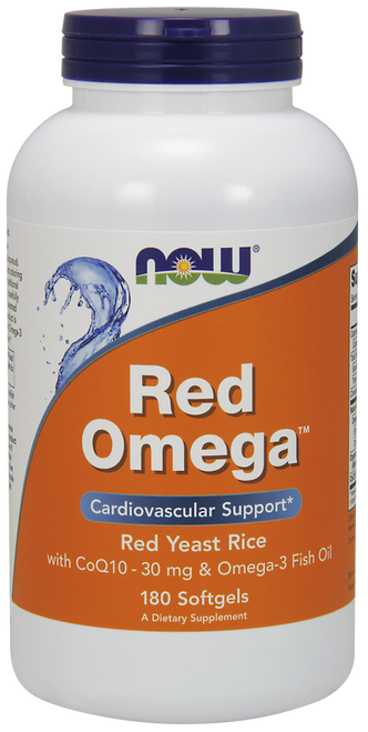 Now Foods Red Omega 180 Softgels #1676