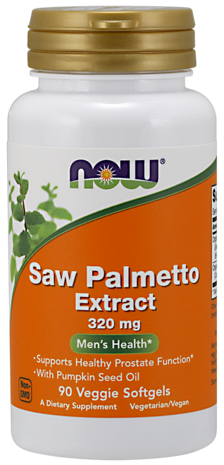 Now Foods Saw Palmetto Extract 320mg 90 Softgels #4756, H&M Herbs & Vitamins