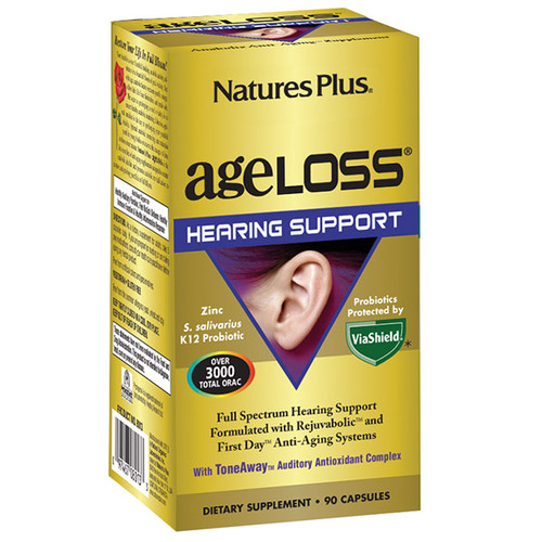 Nature's Plus Ageloss Hearing Support 90 VCapsules