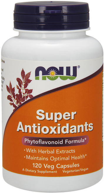 Now Foods Super Antioxidants 120 Capsules #3322