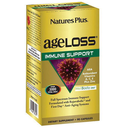 Nature's Plus Ageloss Immune Support 90 VCapsules