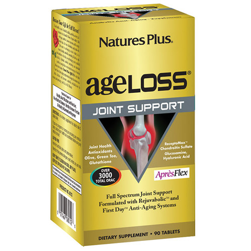 Nature's Plus AgeLoss Joint Support 90 Tablets #8012