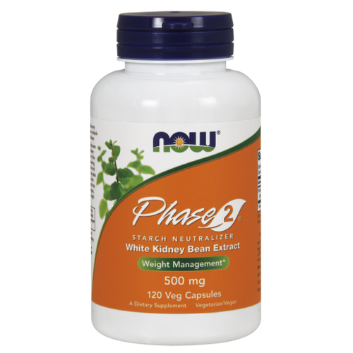 Now Foods Phase-2 500 mg 120 Vegetarian Capsules