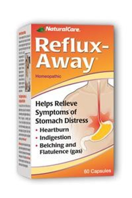 NaturalCare Reflux-Away 60 Capsules #1760