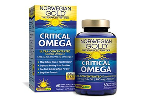 Norwegian Gold Critical Omega 60 Softgels