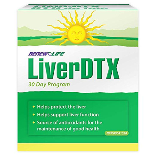 Renew Life Liver Detox 2 Part Kit #15525