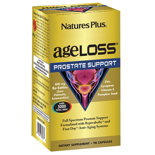 Nature's Plus Ageloss Prostate Support 90 Capsules