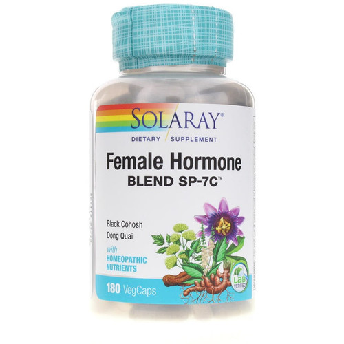 Solaray Female Hormone Blend 100 Capsules #210