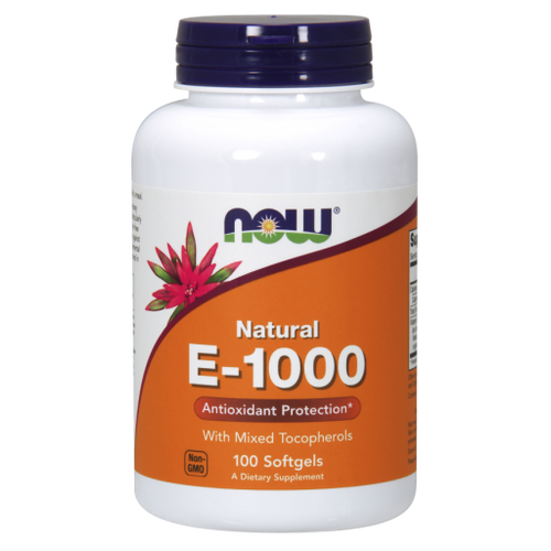 Now Foods Vitamin E 1000 IU 100 Softgels, H&M Herbs & Vitamins