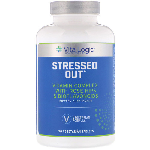 Vita Logic Stressed Out 90 Tablets