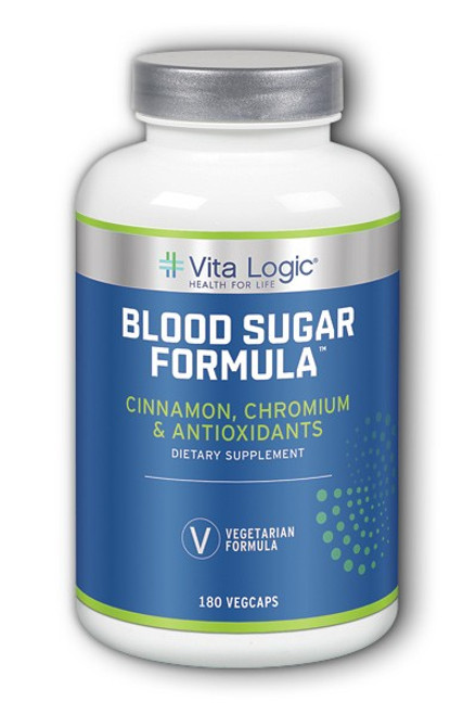 Vita Logic Blood Sugar Formula 180 Capsules