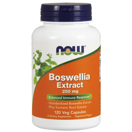 Now Foods Boswellia Extract 250mg 120 Vegetarian Capsules