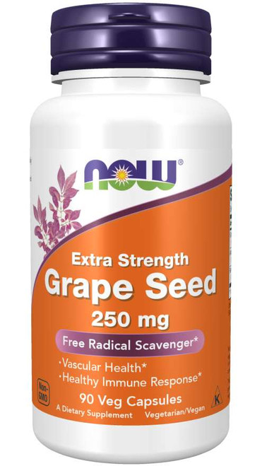 Now Foods Grape Seed 90 Vcaps #3274