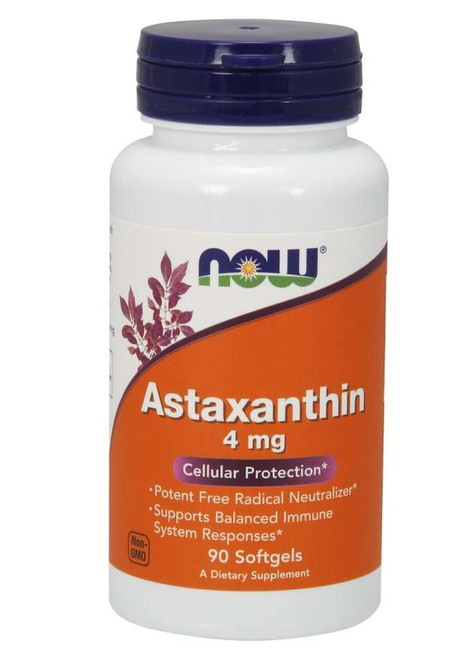 Now Foods Astaxanthin 4 mg 90 V Softgels #2305