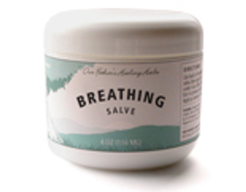 Our Father's Healing Herbs Breathing Salve 2oz