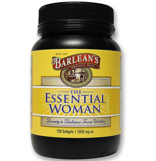 Barlean's Essential Woman Organic Oil 120 Softgels
