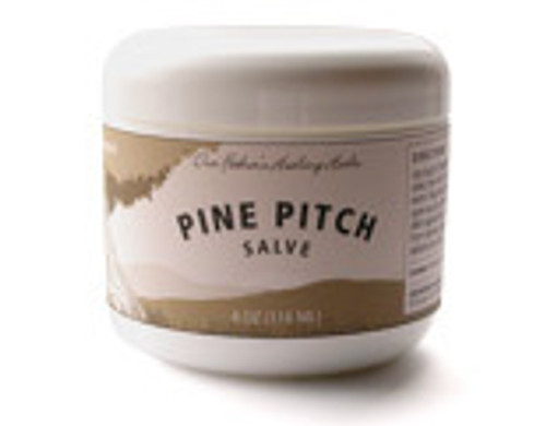 Our Father's Healing Herbs Pine Pitch Salve 2oz