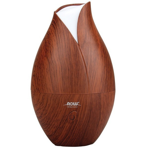 Now Foods Ultrasonic Faux Wooden Oil Diffuser #7519