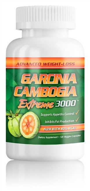 Innovavue Technologies Garcinia Cambogia Extreme 3000 with 80% HCA 120 Capsules, UPC-707565811606