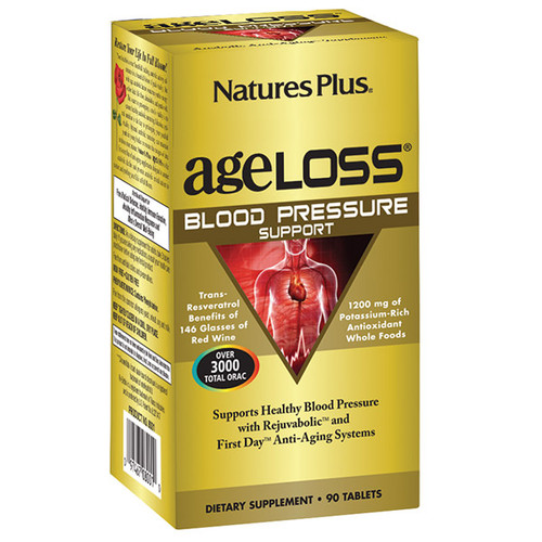 Nature's Plus AgeLoss Blood Pressure Support 90 Tablets