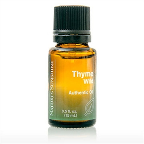 Nature's Sunshine Thyme Wild Essential Oil 15ml #3853-6
