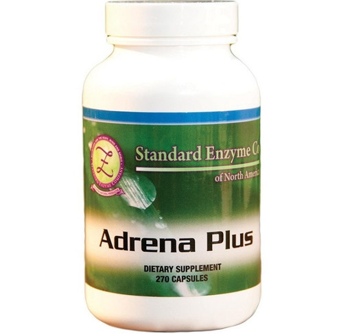 Standard Enzyme Adrena Plus 90 Capsules, Supports: Supports the endocrine system. Helps to boost energy. Assists in adrenal gland function.