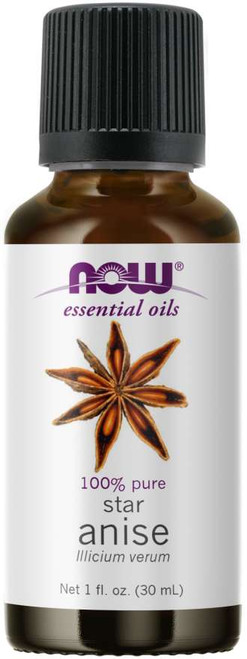 Now Foods Anise Oil 1oz, H&M Herbs & Vitamins, 1-866-461-9454