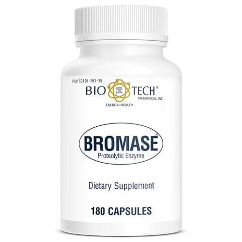 BIO-TECH Bromase 500 mg - 180 Capsules