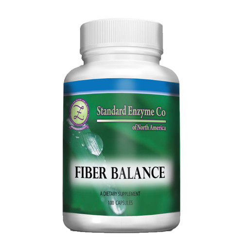Standard Enzyme Fiber Balance 100 Capsules, Fiber capsules that provide support for the bowels.